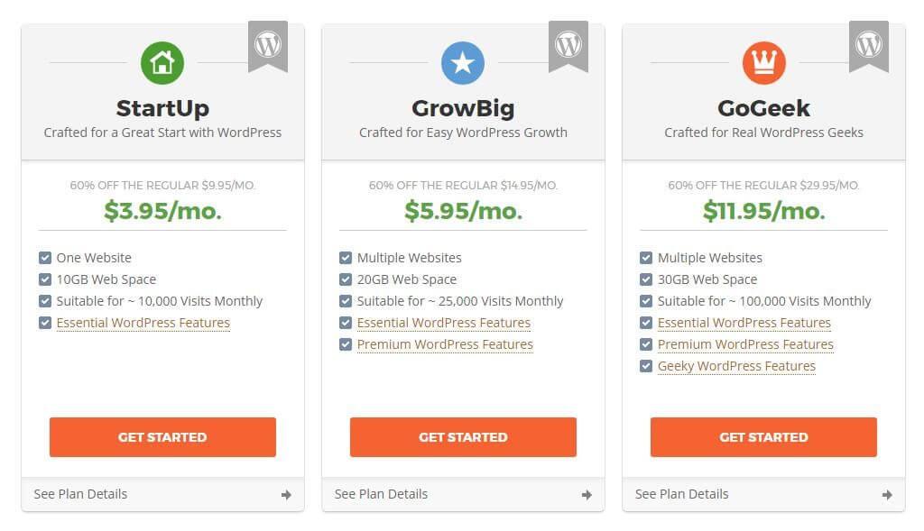 startup growbig gogeek三个方案