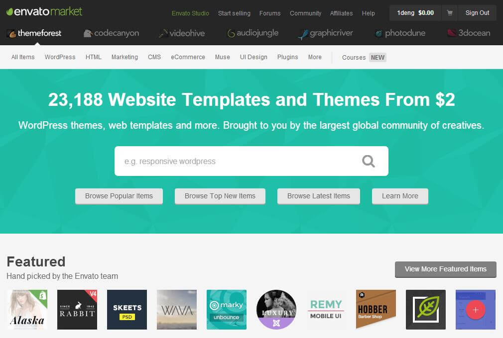 themeforest wordpress主题