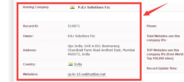 P.D.R solutions Fzc