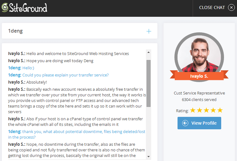 siteground livechat 1