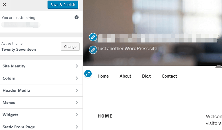 wordpress自定义菜单