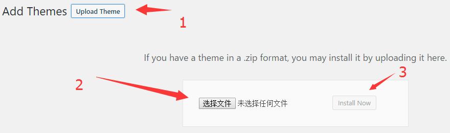 upload Avada theme