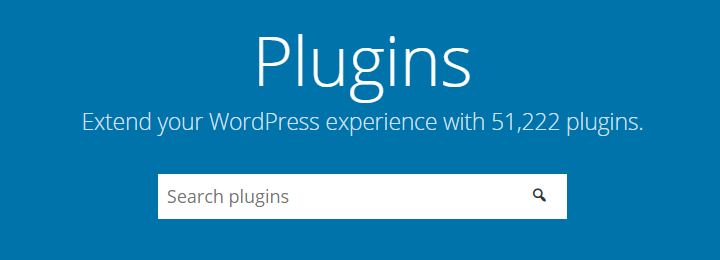 wordpress plugins Extend your WordPress experience