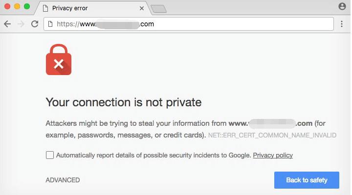 网站没有https显示不安全