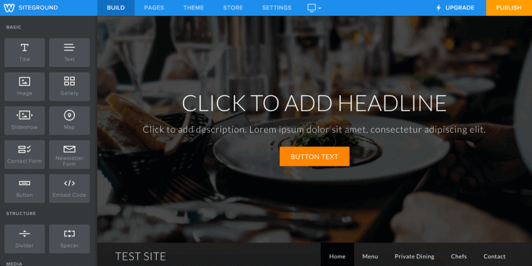 Weebly SiteGround