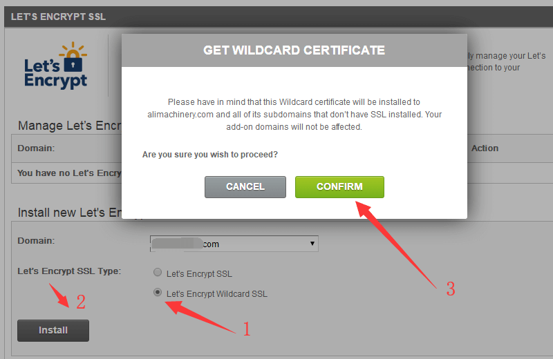 Let's Encrypt Wildcard SSL