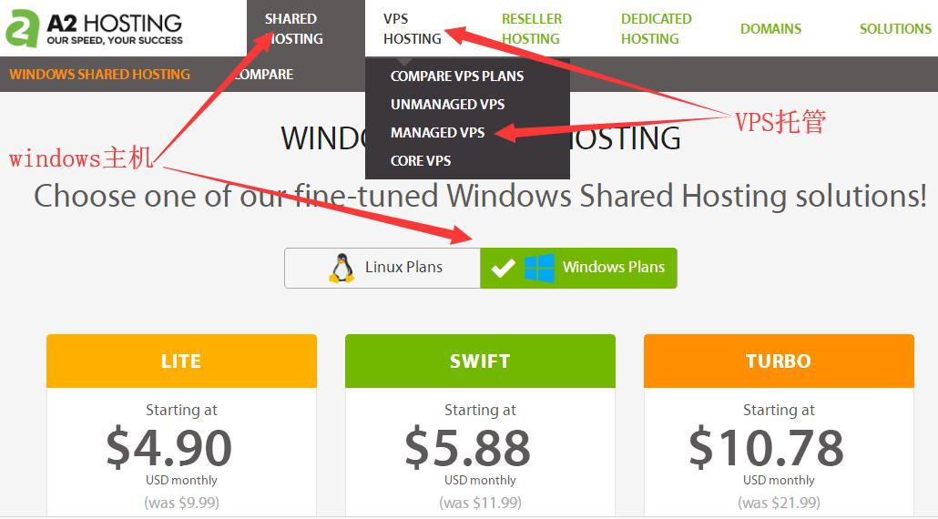 windows主机和vps托管