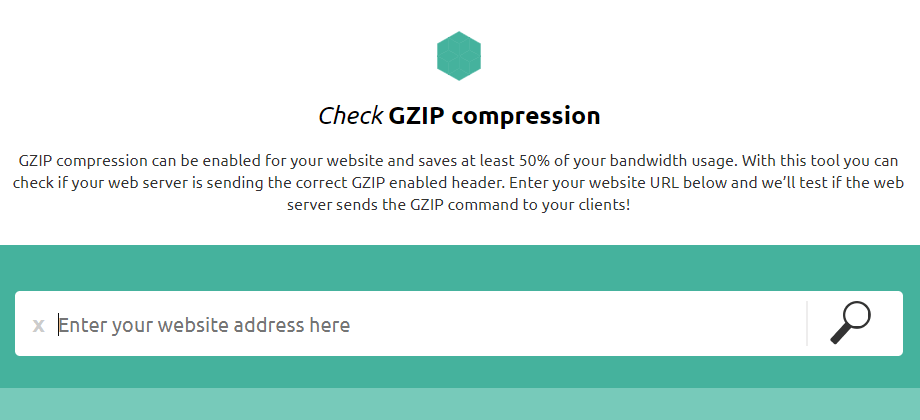 Check GZIP compression