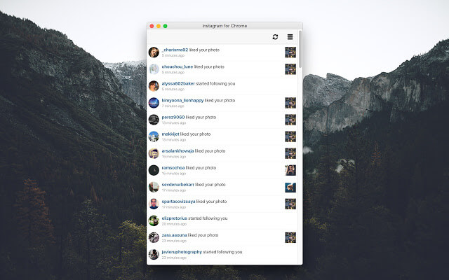 Notifications for Instagram chrome扩展
