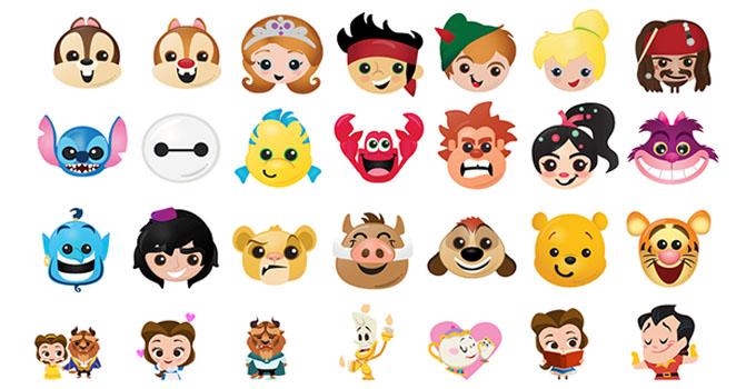 迪士尼emoji