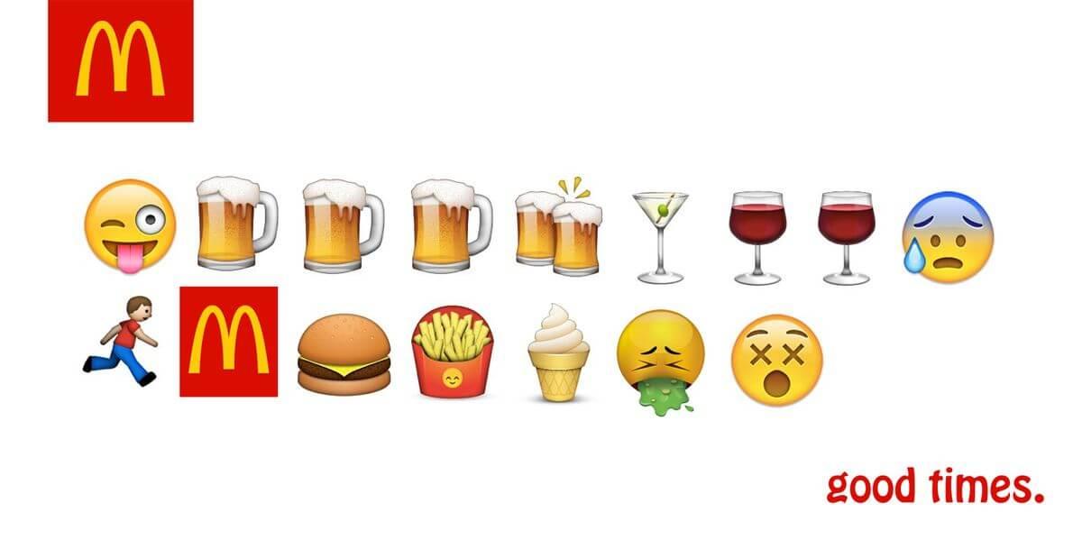 麦当劳emoji