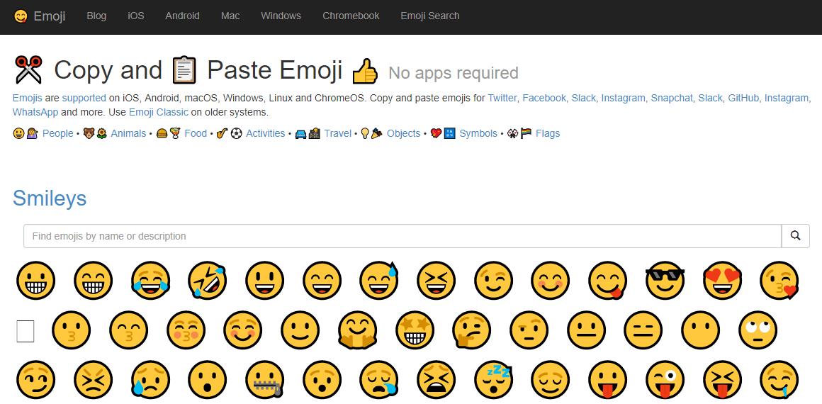 web emoji