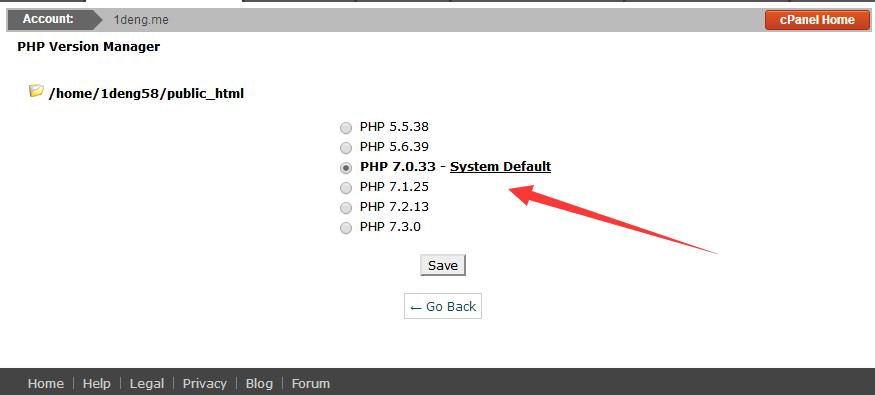 PHP版本切换