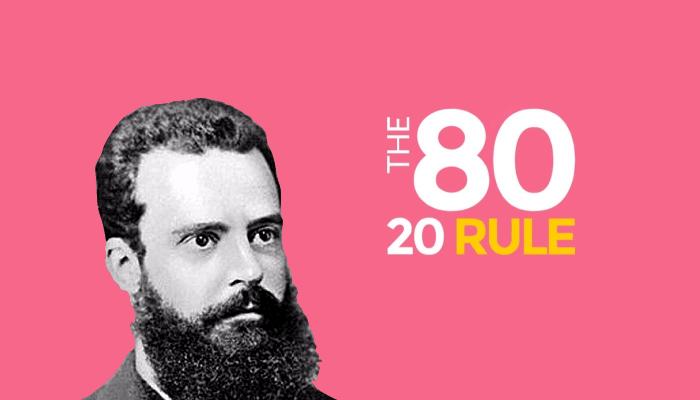 帕累托二八定律80/20法则