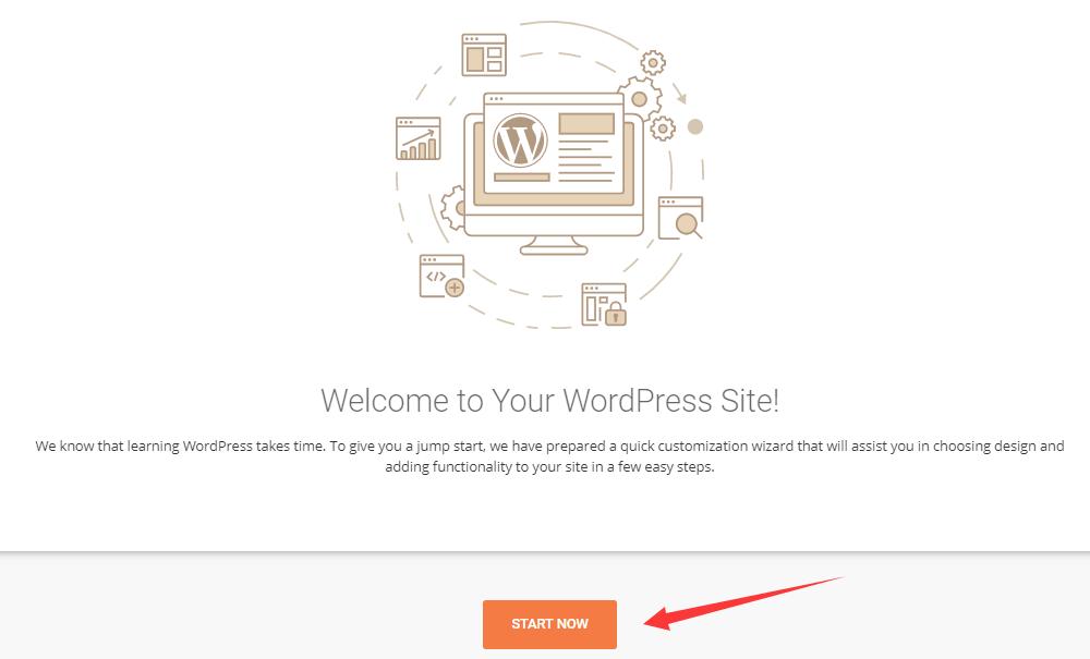 siteground wordpress设置