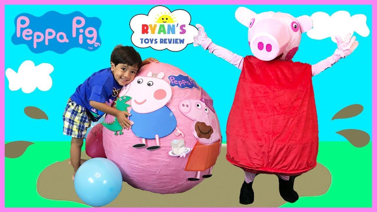 佩奇小猪ryan toyz