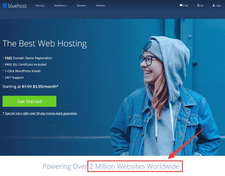 bluehost用户数