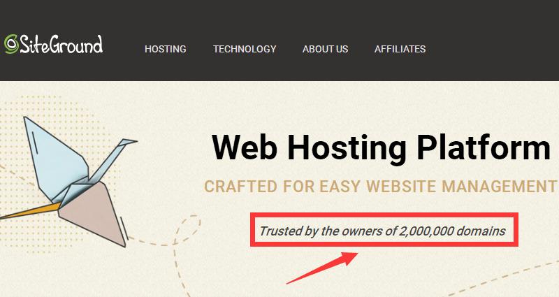 siteground全球用户200万