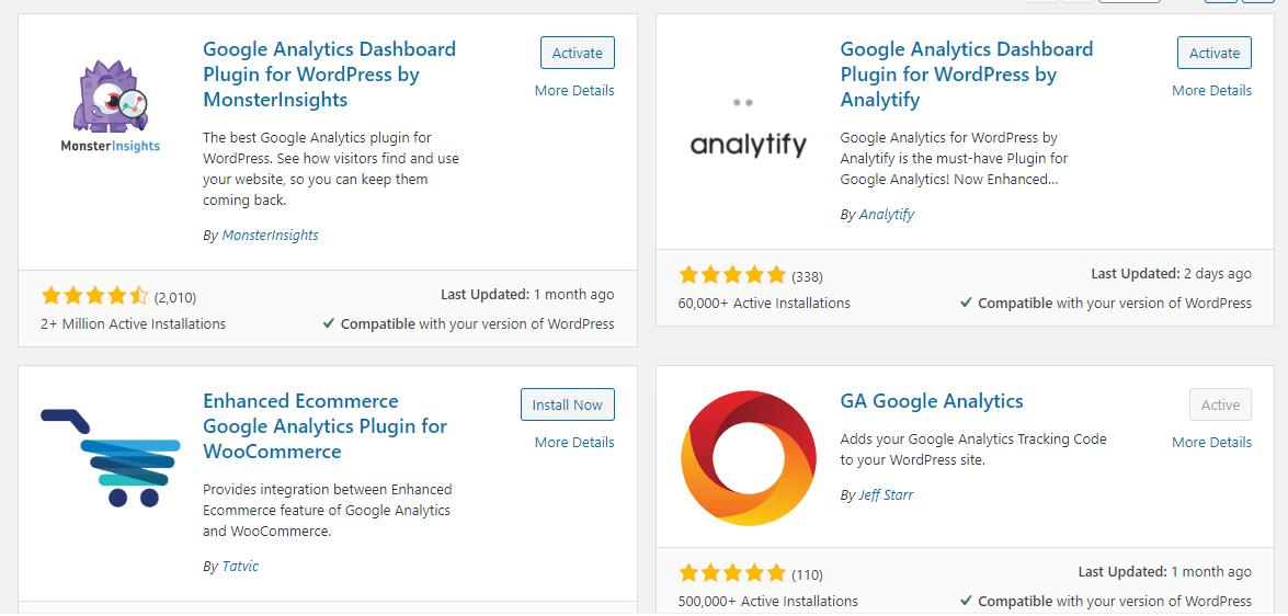 谷歌分析插件