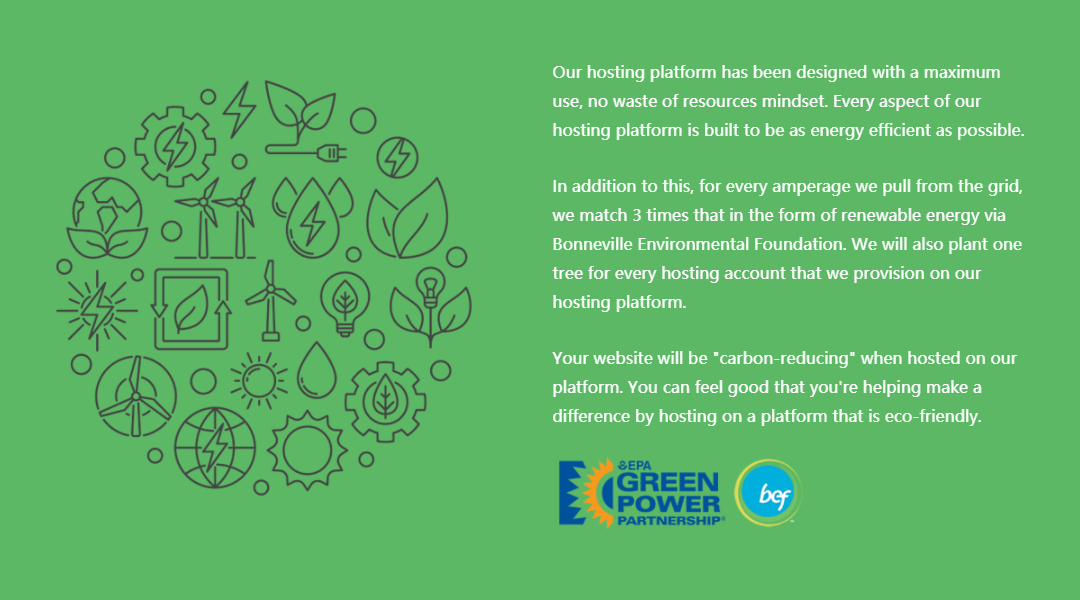Environmentally Responsible Platform